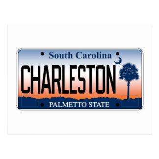 Placa de Charleston Tarjetas Postales