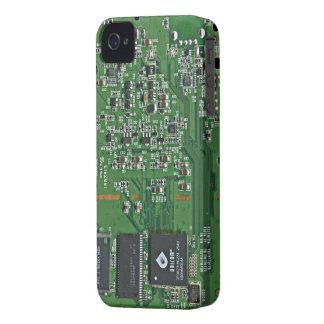 Placa de circuito divertida iPhone 4 protectores