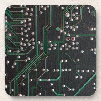 Placa de circuito electrónica posavasos para bebidas