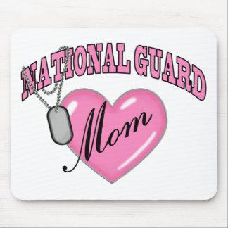 Placa de identificación del corazón N de la mamá d Alfombrilla De Ratón