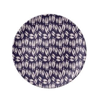 placa de la porcelana de los enganches de los plato de porcelana