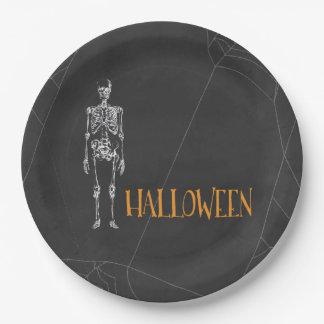 Placa de papel de Halloween del alcohol Plato De Papel