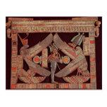 Placa de pecho que representa Osiris, dios de Postal