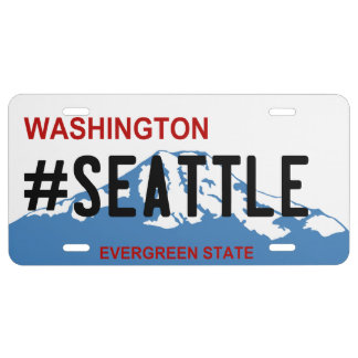 Placa de Washington Seattle