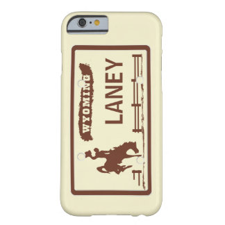 Placa de Wyoming Funda Barely There iPhone 6