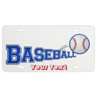 Placa del béisbol