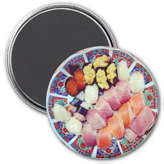 Placa del imán delicioso del refrigerador del