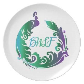 Placa del logotipo del llano de la familia de BWL Plato
