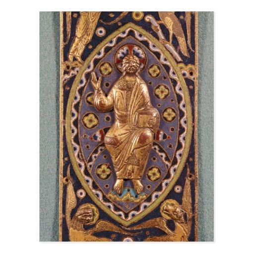 Placa del relicario que representa a Cristo Tarjetas Postales