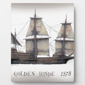 Placa Expositora 1578 Hinde de oro