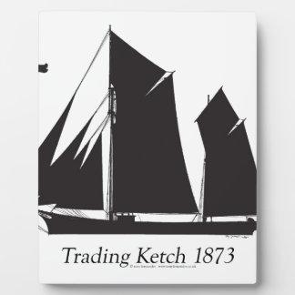 Placa Expositora 1873 ketch comerciales - fernandes tony