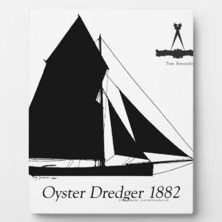 Placa Expositora 1882 draga de la ostra - fernandes tony