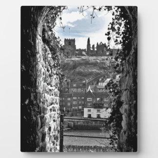 Placa Expositora Abadía de Whitby