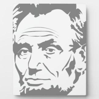 Placa Expositora Abraham Lincoln