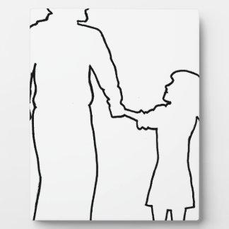 Placa Expositora Adulto de los jóvenes de las adolescencias de los