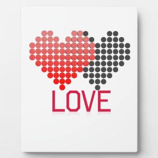 Placa Expositora amor