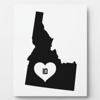 Placa Expositora Amor de Idaho