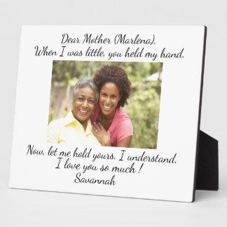 Placa Expositora Amor de la madre, padre, hermana, familia…