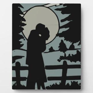 Placa Expositora Amor de la noche