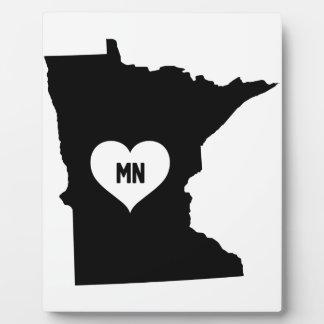 Placa Expositora Amor de Minnesota