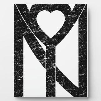 Placa Expositora Amor de NY Nueva York