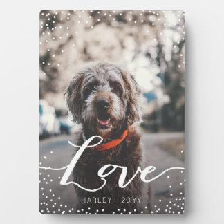 Placa Expositora Amor personalizado