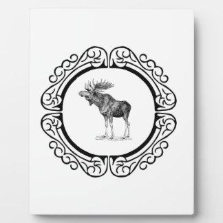 Placa Expositora anillo de los alces del toro