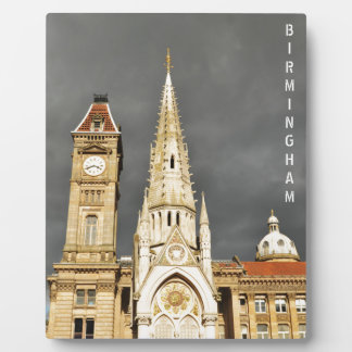 Placa Expositora Arquitectura en Birmingham, Inglaterra