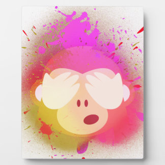 Placa Expositora Arte creativo estupendo de la pintura de aerosol