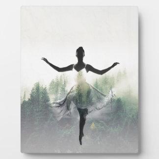 Placa Expositora Bailarín del bosque