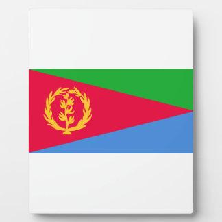 Placa Expositora ¡Bajo costo! Bandera de Eritrea