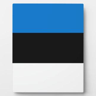 Placa Expositora ¡Bajo costo! Bandera de Estonia