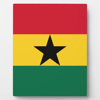 Placa Expositora ¡Bajo costo! Bandera de Ghana