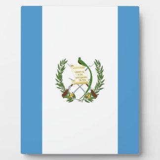 Placa Expositora ¡Bajo costo! Bandera de Guatemala