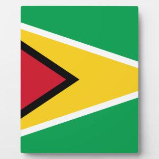 Placa Expositora ¡Bajo costo! Bandera de Guyana