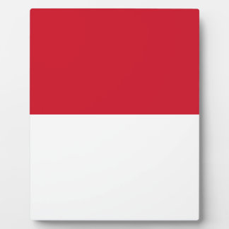 Placa Expositora ¡Bajo costo! Bandera de Indonesia