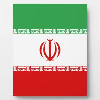 Placa Expositora ¡Bajo costo! Bandera de Irán