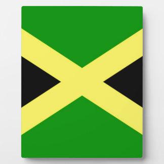 Placa Expositora ¡Bajo costo! Bandera de Jamaica