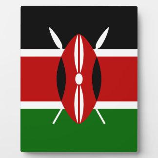 Placa Expositora ¡Bajo costo! Bandera de Kenia