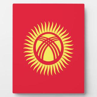 Placa Expositora ¡Bajo costo! Bandera de Kirguistán