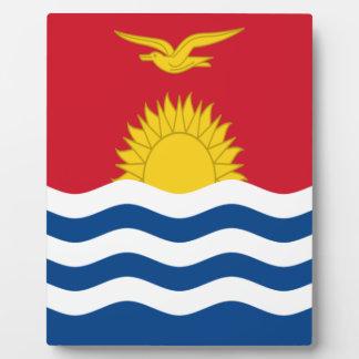 Placa Expositora ¡Bajo costo! Bandera de Kiribati