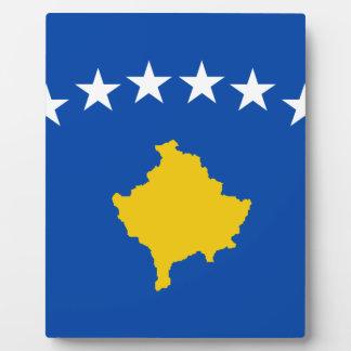 Placa Expositora ¡Bajo costo! Bandera de Kosovo