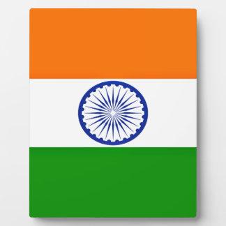 Placa Expositora ¡Bajo costo! Bandera de la India