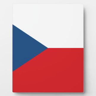Placa Expositora ¡Bajo costo! Bandera de la República Checa