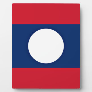 Placa Expositora ¡Bajo costo! Bandera de Laos