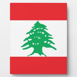 Placa Expositora ¡Bajo costo! Bandera de Líbano