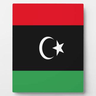 Placa Expositora ¡Bajo costo! Bandera de Libia