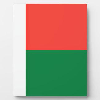 Placa Expositora ¡Bajo costo! Bandera de Madagascar
