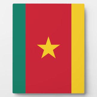 Placa Expositora ¡Bajo costo! Bandera del Camerún