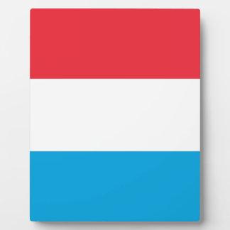 Placa Expositora ¡Bajo costo! Luxemburgo señala por medio de una